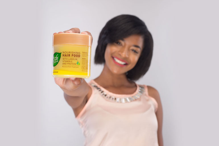 Hair food with TCB Naturals